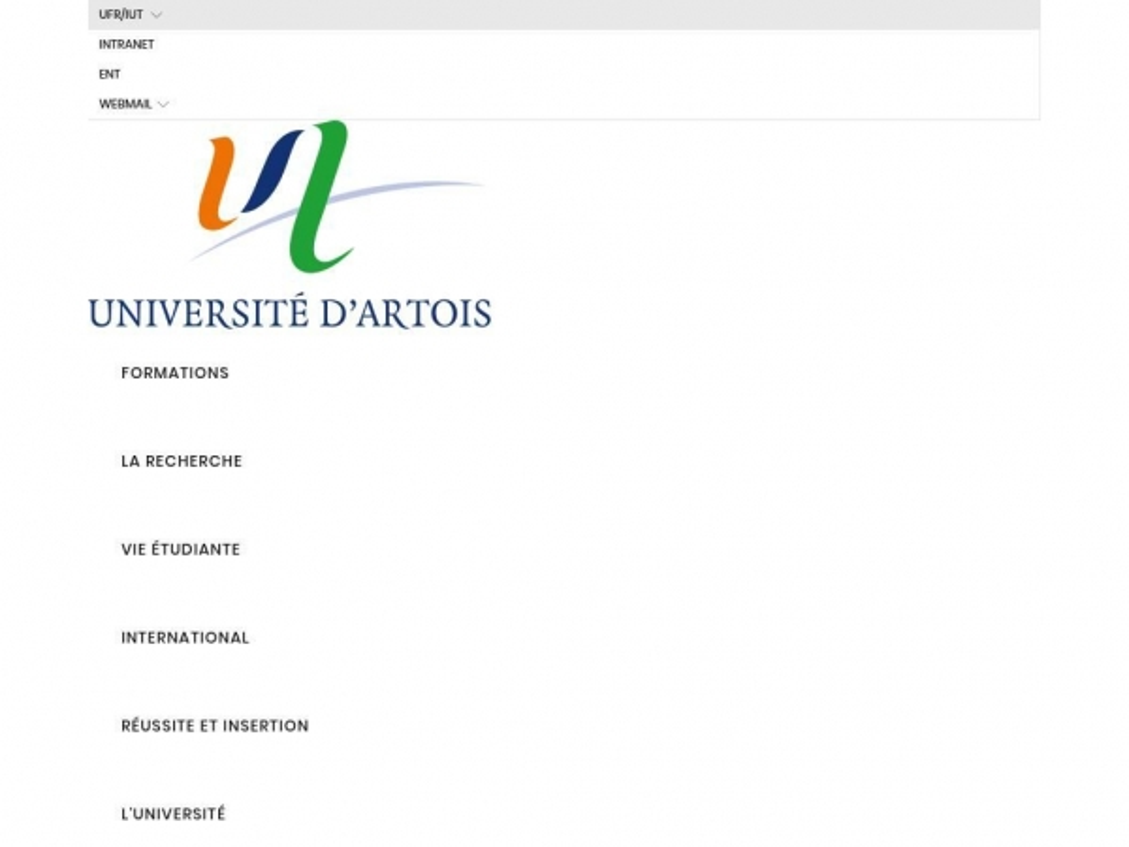 univ-artois.fr