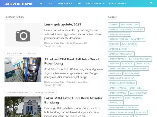 jadwalbank.info
